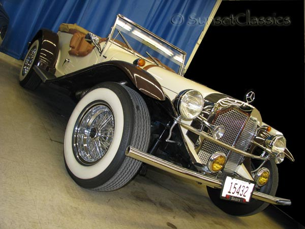1929 Mercedes Gazelle Replicar For Sale