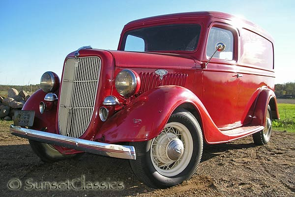 1935 Ford Panel Delivery Truck For Sale