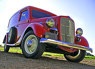 1935 Ford Panel Delivery Truck
