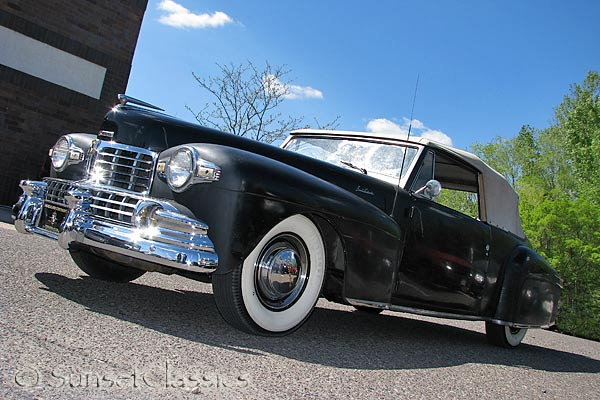 1948 Lincoln Continental Convertible for Sale
