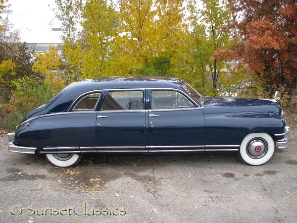 Limo For Sale >> 1949 Packard Custom Eight Limousine Body Gallery/1949 ...