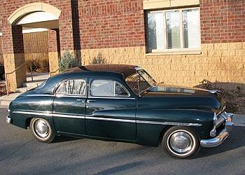1950 Mercury Eight Sedan ... & 1950 Mercury 4 Door Sedan for Sale