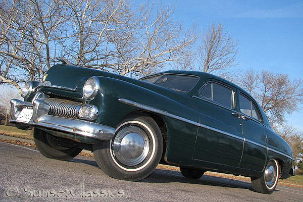 1950 Mercury Eight Sedan for sale & 1950 Mercury 4 Door Sedan for Sale
