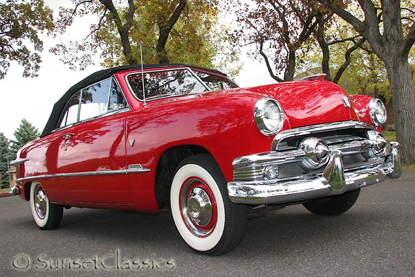 1951 Ford Custom Convertible Coupe for Sale