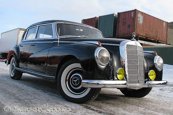 1952 mercedes benz 300 adenauer for sale for Mercedes benz 300s