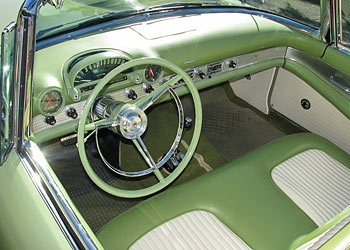 1956 Ford Thunderbird For Sale In Sage Green