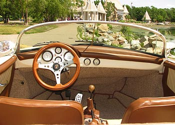 Cream 1956 Porsche Speedster Replica For Sale