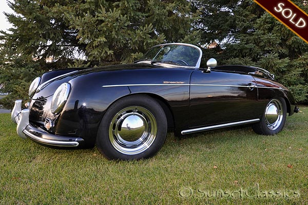 1956 Porsche Speedster Replica For Sale W Porsche 912 Engine
