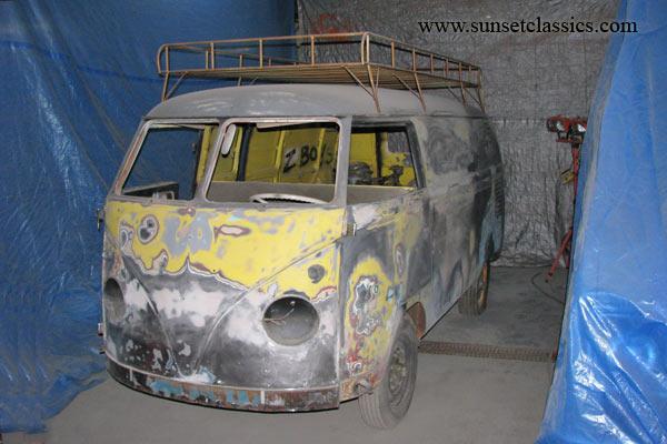 1956 VW Panel Van for Sale