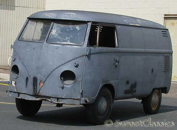 1956 VW Split-Window Bus for Sale