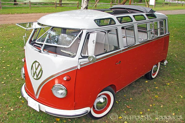 1957 23 Window Bus For Sale