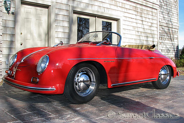 Red 1957 Porsche Speedster Replica For Sale