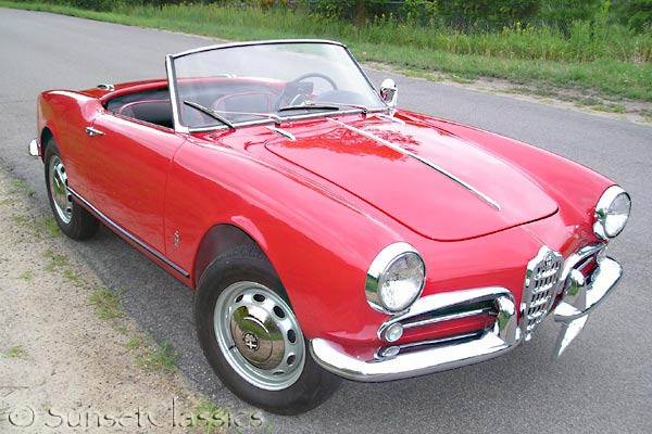 Alfa Romeo Giulietta Spider Veloce For Sale - Alfa romeo giulietta 1960 for sale