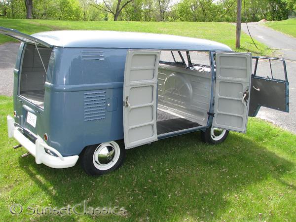 1959 Vw Double Door Panel Van For Sale Autos Weblog