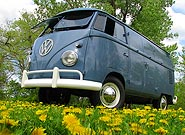 1959  Double Door VW Panel Van