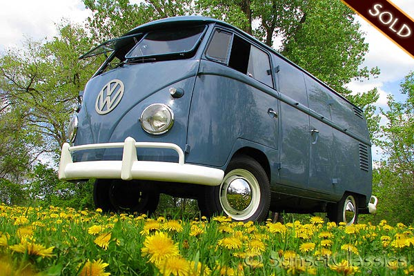 1959 Vw Double Door Panel Van For Sale