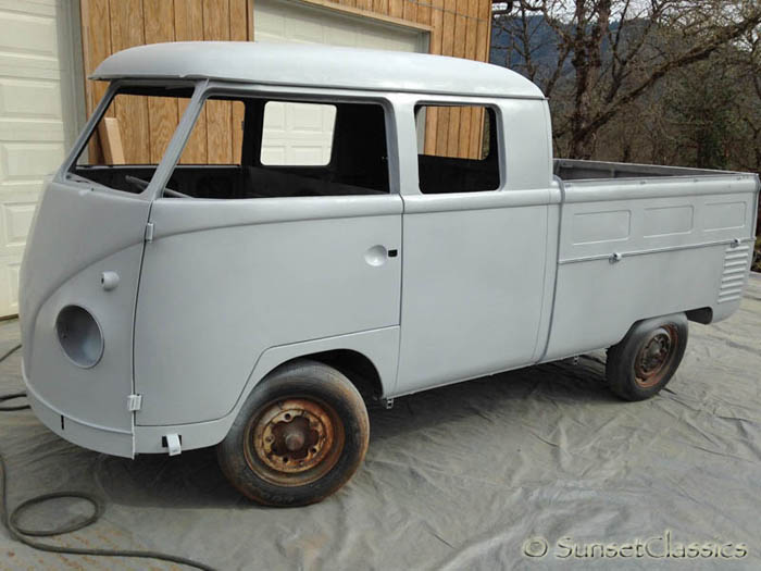 Vw For Sale >> 1960 Vw Double Cab For Sale