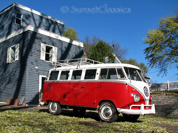 1961 Vw Deluxe 15 Window Microbus For Sale