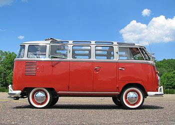 1961 23 Window VW Van Passenger Side