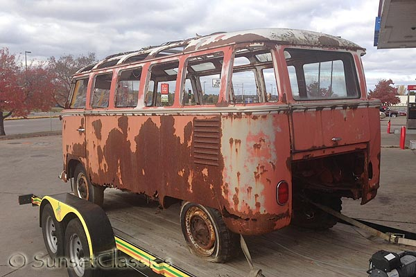 1962 23-Window VW Bus for Sale: A Rusty Bus with Potential