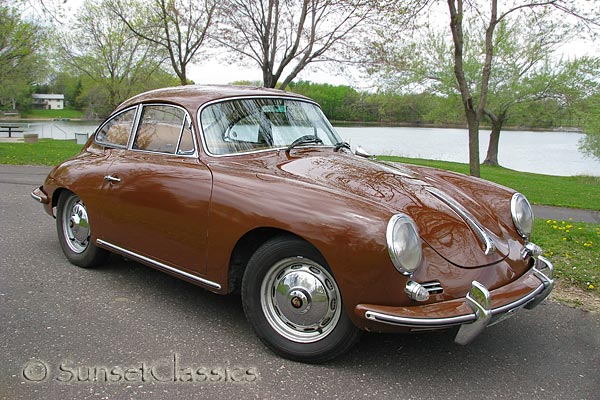 1962 Porsche 356B T6 Coupe for Sale