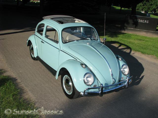 1962 Ragtop Vw Beetle Body Gallery 1962 Vw Beetle Ragtop 395