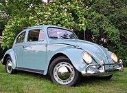 1962 VW Ragtop Beetle