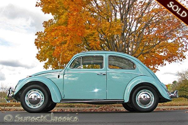 1962 vw beetle for sale classic ragtop beetle. Black Bedroom Furniture Sets. Home Design Ideas