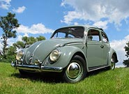1962 VW Sunroof Beetle