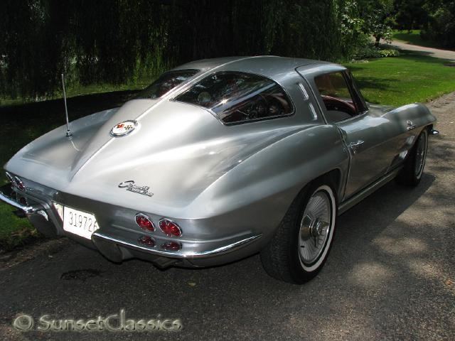 1963 split window corvette barn find 33 years in storage for 1963 split window corvette for sale in canada