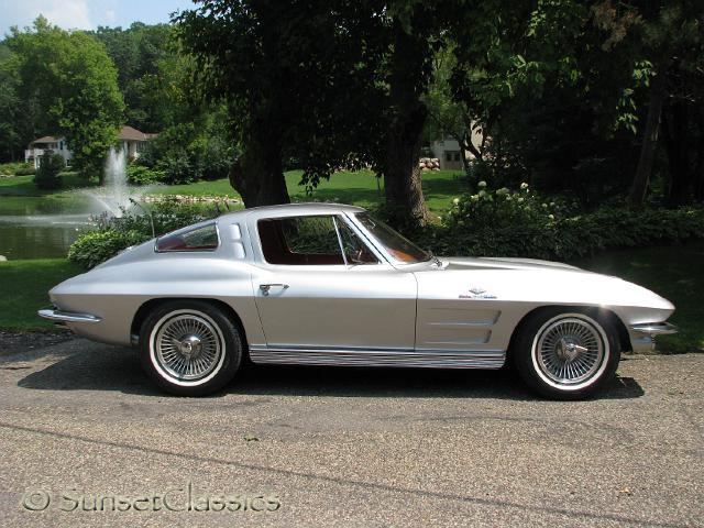 1963 Corvette Stingray Fuelie Body Gallery 1963 Corvette