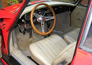 classic red 1963 porsche 356 for sale. Black Bedroom Furniture Sets. Home Design Ideas