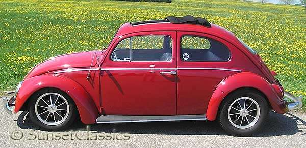 1963 Sunroof VW Beetle