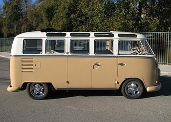 1964 21 Window Vw Bus For Sale California Deluxe Bus