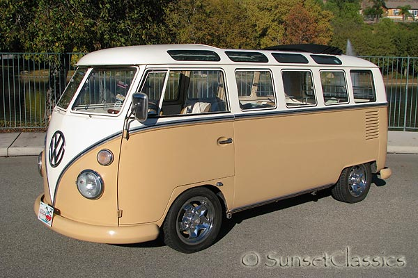 7a6521570b 1964 21 Window VW Bus for Sale  California Deluxe Bus