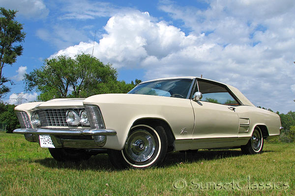 We have a very nice, very original 1964 Buick Riviera for sale.