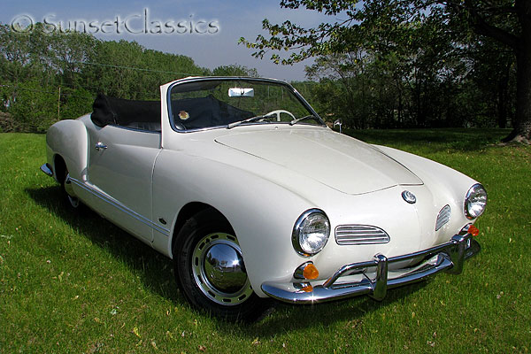 1964 Karmann Ghia Convertible For Sale