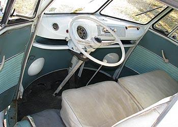 1964 Vw Bus Interior