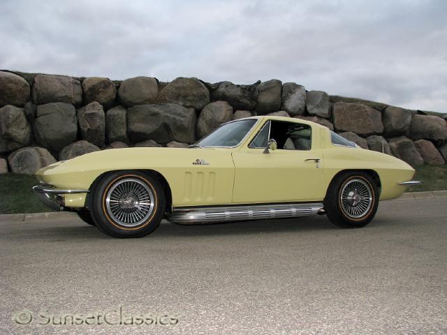 1965 Chevrolet Corvette Stingray Car Interior Design