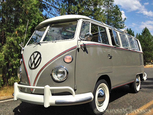 1966 21 Window Vw Bus For