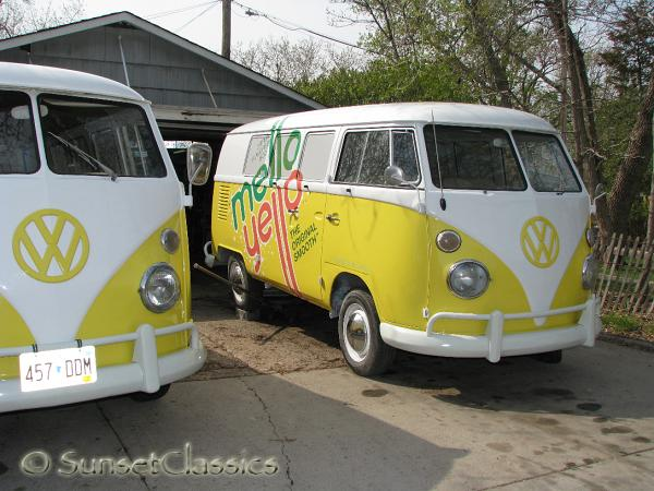 Tremendous 1966 Mellow Yellow Vw Bus Bench Seat Restoration Gallery Evergreenethics Interior Chair Design Evergreenethicsorg