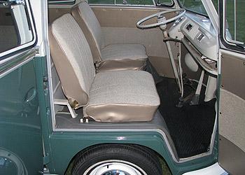 1966 Vw Deluxe Microbus Interior