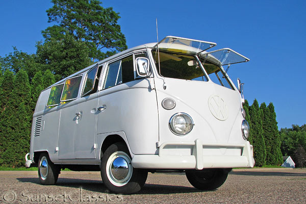 1966 VW Walk Through Bus for Sale