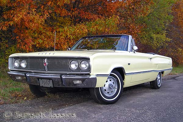 1967 Dodge Coronet 440 Convertible for Sale