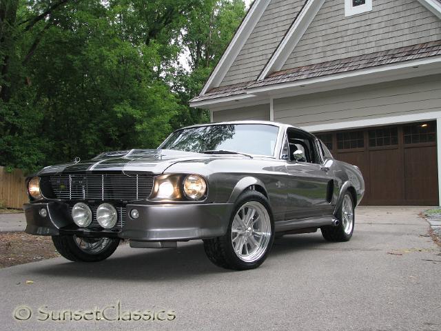 1967 Mustang Notchback Eleanor Body Kit