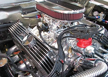 ... 1967 Shelby Mustang GT500E Eleanor engine
