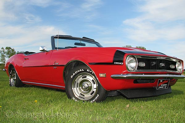 1968 Camaro SS Convertible for Sale