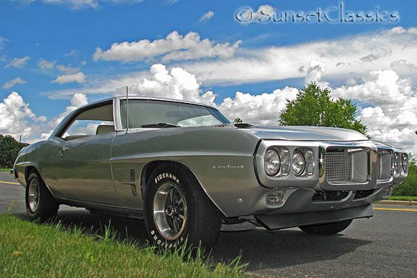 Paint Colors For Cars >> 1969 Pontiac Firebird for Sale