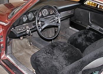 Maroon 1969 Porsche 912 For Sale
