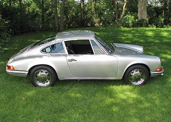 Stunning Silver 1969 Porsche 912 for Sale